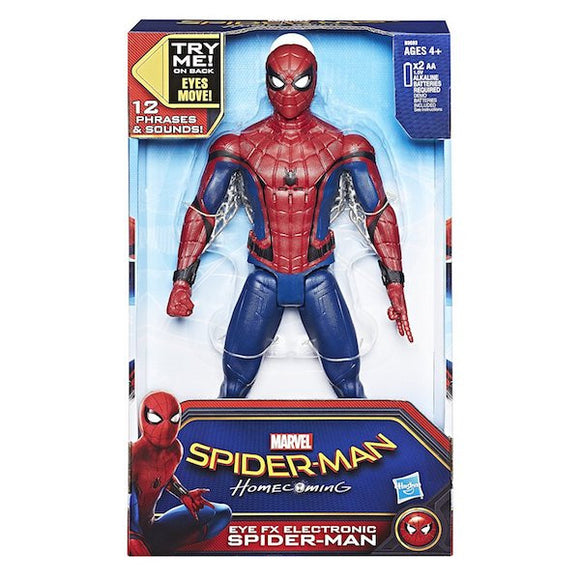 Spider-Man Homecoming: Eye FX Electronic Spider Man Figure by Hasbro
