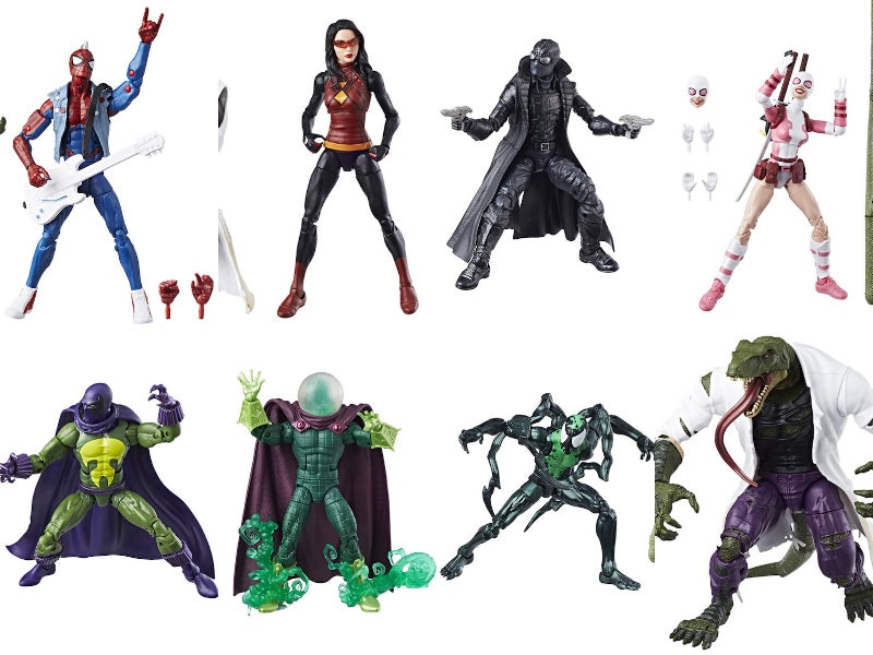 Spider-Man Marvel Legends Lizard BAF wave by Hasbro