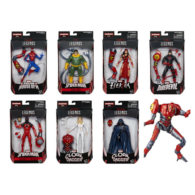 Marvel Legends Marvel's SP//dr Baf 7-Pack by Hasbro