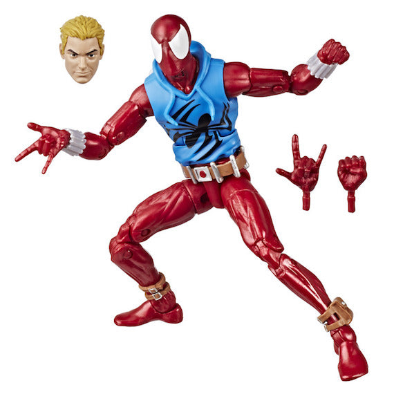 Marvel Legends Vintage Wave Scarlet Spider Figure by Hasbro