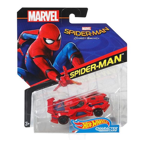 Marvel Character Car: Spider-Man Homecoming: Spider-Man Die-cast Car by Hot Wheels