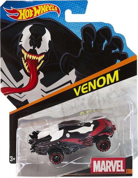 Marvel Character Car: Venom Car by Hot Wheels