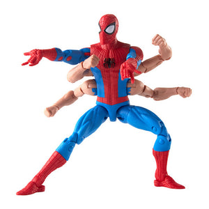Amazing Spider-Man Marvel Legends Six Arm Spider-Man figure by Hasbro