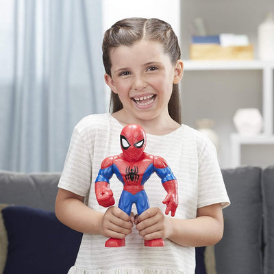 Marvel Superhero Adventures Spiderman 10-Inch Figure by Hasbro
