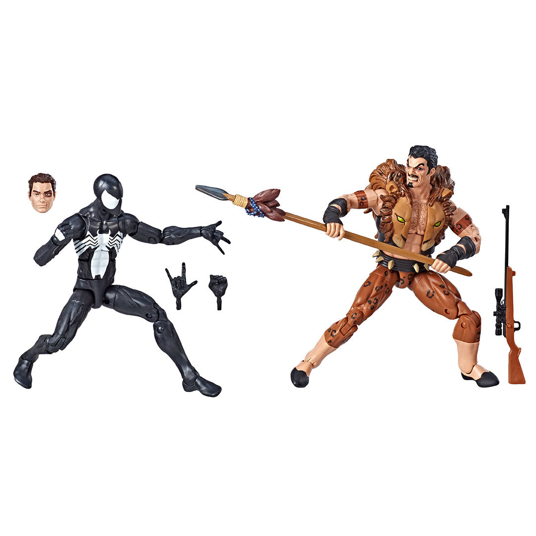 Spiderman & Kravel 2 Pack Marvel Legends Figure by Hasbro