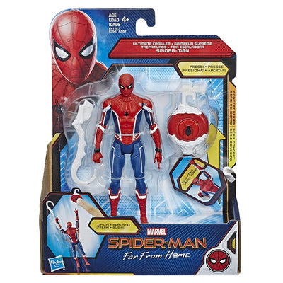 Spiderman Far From Home Ultimate Crawler Spiderman Figure by Hasbro -Hasbro - India - www.superherotoystore.com