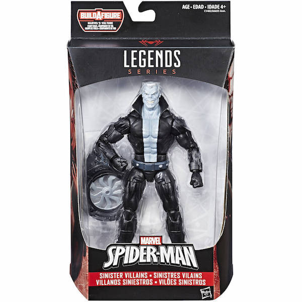 Marvel Legends: Spider-man Homecoming: Tombstone Figure by Hasbro