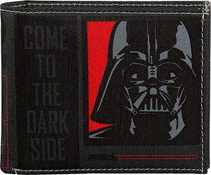 Star Wars Dark Vader Dark Side Bi-Fold Wallet by Bombay Merch