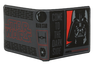 Star Wars Dark Vader Dark Side Bi-Fold Wallet by Bombay Merch -Bombaymerch - India - www.superherotoystore.com