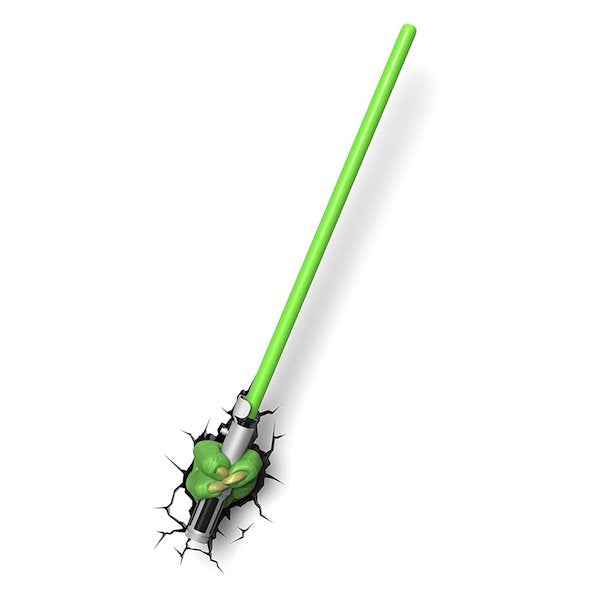 Star Wars Yoda Lightsaber 3D Deco Light by 3D Light FX