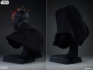 Star Wars: Darth Maul Life  Size Bust by Sideshow Collectibles