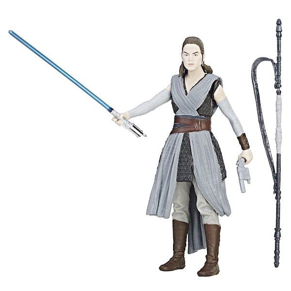 Star Wars Rey Jedi Training Force Link Activated Figure by Hasbro