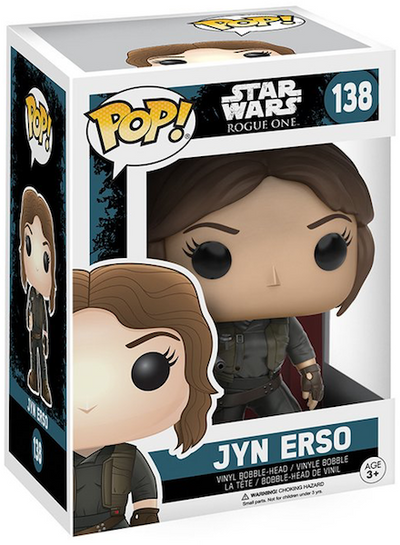 Star Wars Rogue One: Jyn Erso Pop! Vinyl Figure by Funko