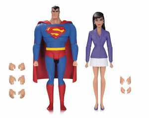 Superman Animated Series: Superman & Lois Lane 2 Pack by DC Collectibles