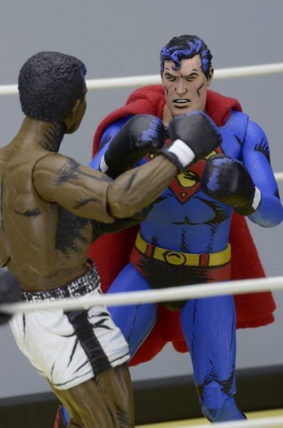 Superman Vs Muhammad Ali Action Figure 2-Pack by Neca -NECA - India - www.superherotoystore.com