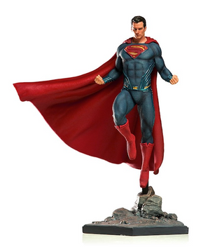 Justice League Movie: Superman 1:10th Art Scale Statue by Iron Studios