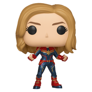 Captain Marvel In Suit Vinyl Bobble-Head by Funko