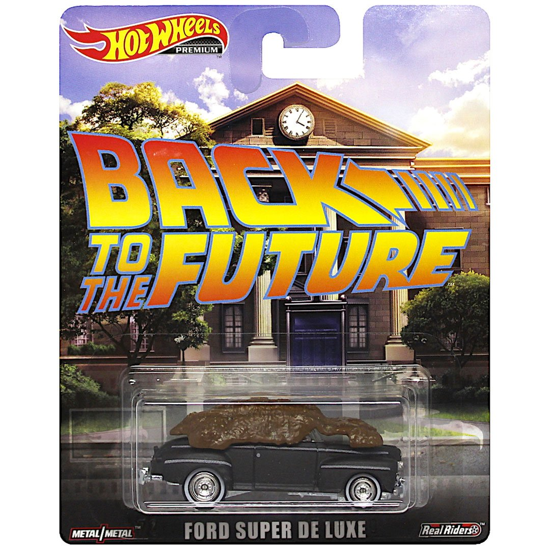 Back To The Future Ford Super De Luxe 1:64 Scale Die-Cast Car by Hot Wheels