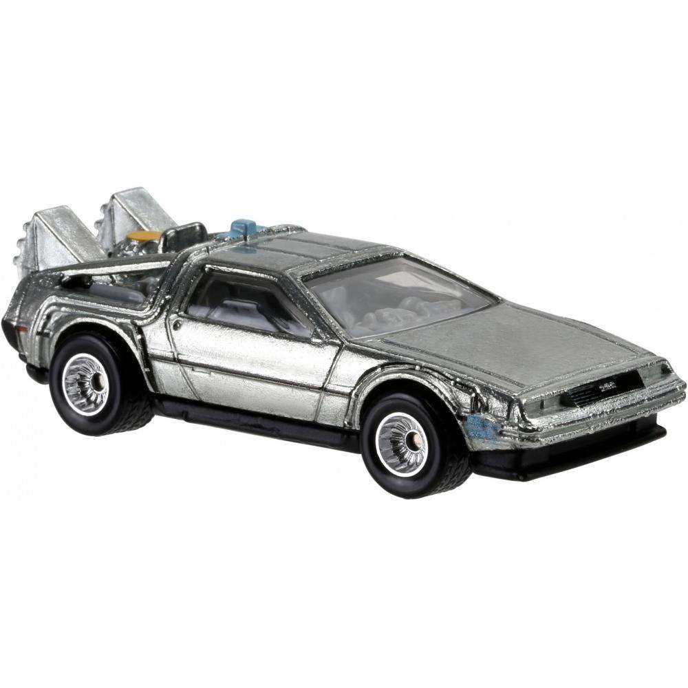 Back To The Future Time Machine 1:64 Scale Die Cast Car by Hot Wheels (New) -Hot Wheels - India - www.superherotoystore.com