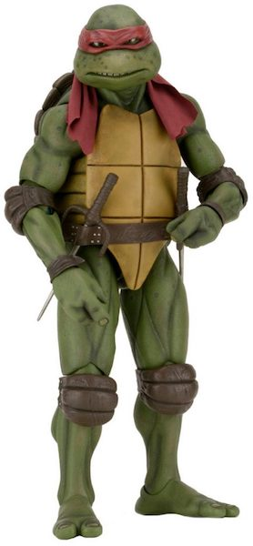 Teenage Mutant Ninja Turtles (Movie) Raphael 1/4th Scale Action Figure by Neca -NECA - India - www.superherotoystore.com