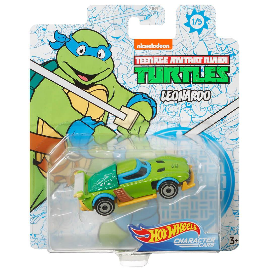 Teenage Mutant Ninja Turtles Leonardo 1:64 Scale Die-Cast Car by Hot Wheels -Hot Wheels - India - www.superherotoystore.com