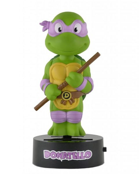 Teenage Mutant Ninja Turtles: Donatello Solar Powered Body Knocker by Neca