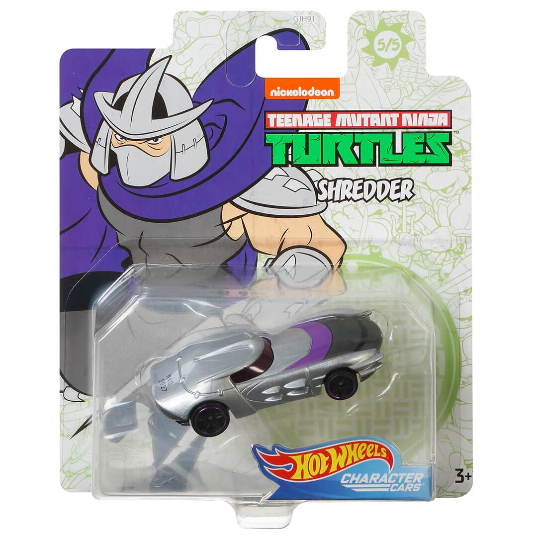 Teenage Mutant Ninja Turtles Shredder 1:64 Scale Die-Cast Car by Hot Wheels -Hot Wheels - India - www.superherotoystore.com