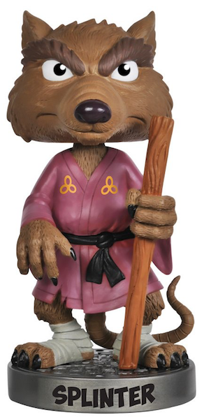 Teenage Mutant Ninja Turtles Splinter Wacky Wobbler by Funko