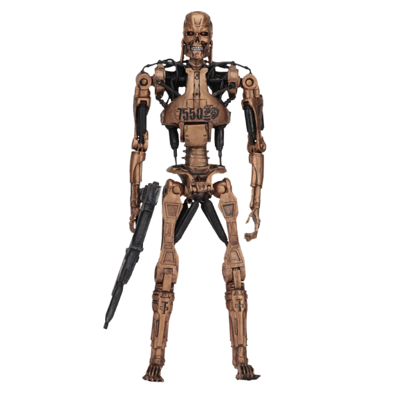 Terminator 2 Judgement Day Metal Mash Endoskeleton Kenner Tribute Figure by NECA