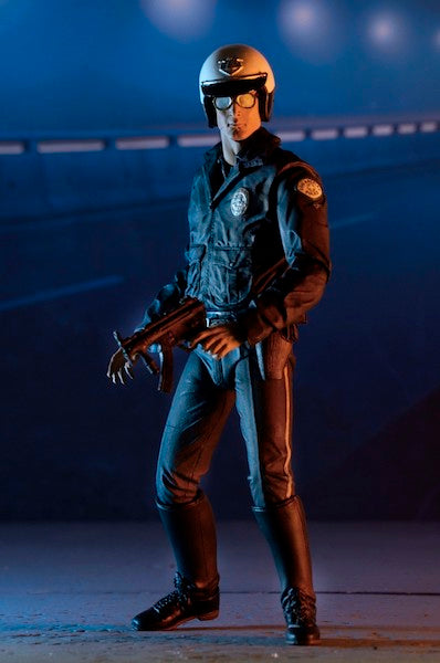 Terminator 2: Judgement Day: T-1000 Motorcycle Cop Figure by Neca
