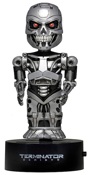Terminator Genisys Endoskeleton Solar Powered Body Knocker by Neca