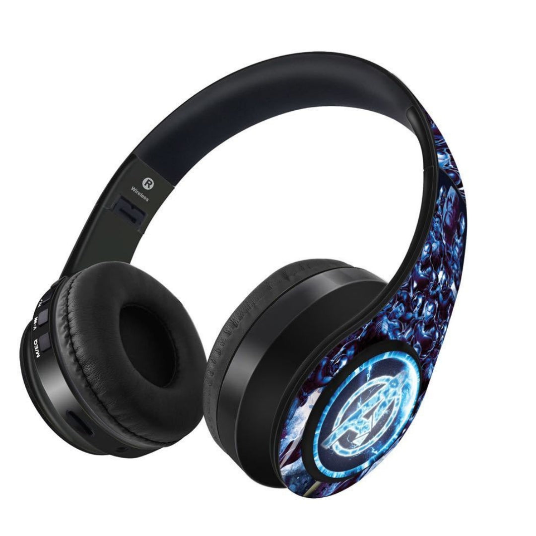 Avengers Endgame : Hurricane Wireless Headphones by Macmerise -Macmerise - India - www.superherotoystore.com