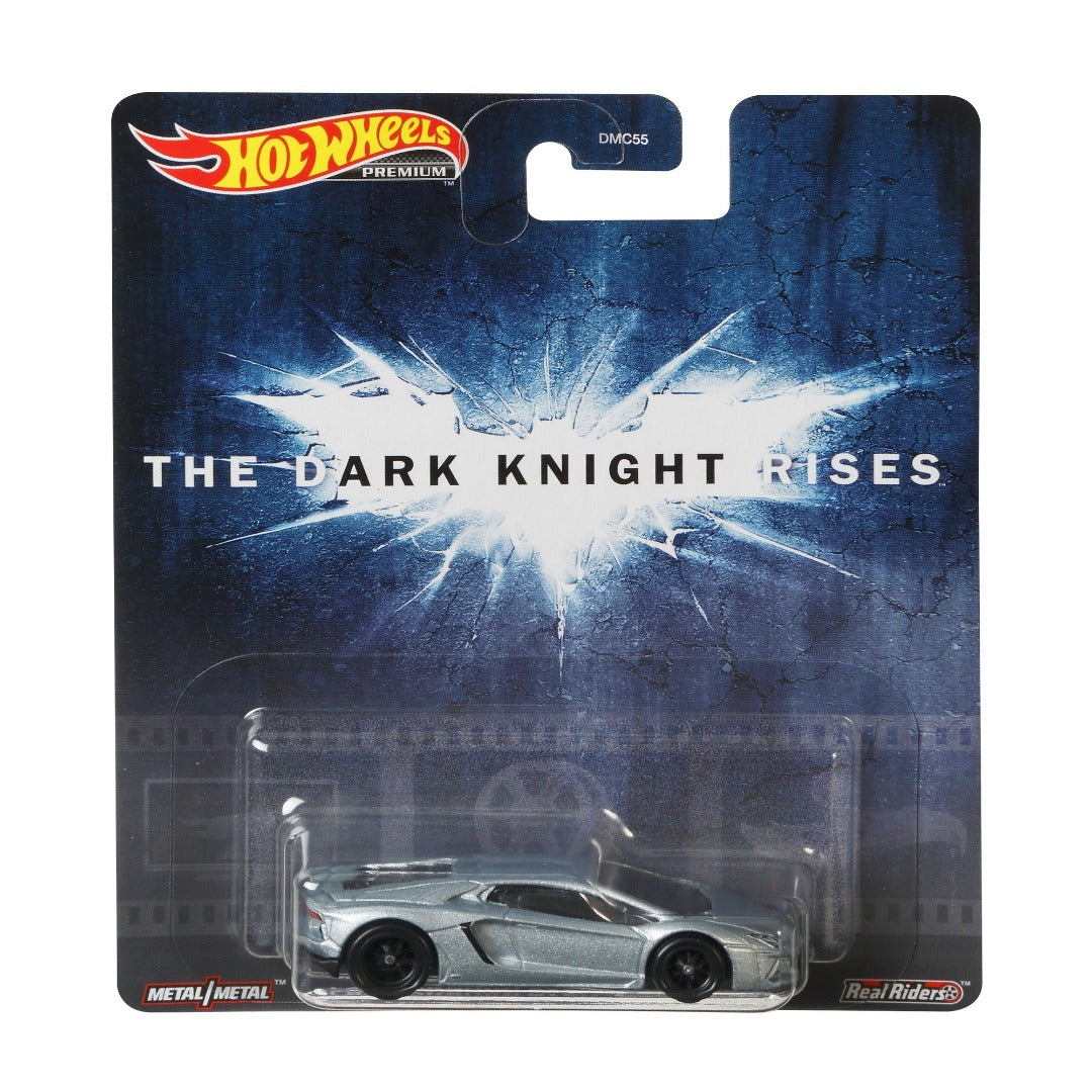 Batman The Dark Knight Rises Lamborghini Aventador Coupe 1:64 Scale Die-Cast Car by Hot Wheels -Hot Wheels - India - www.superherotoystore.com