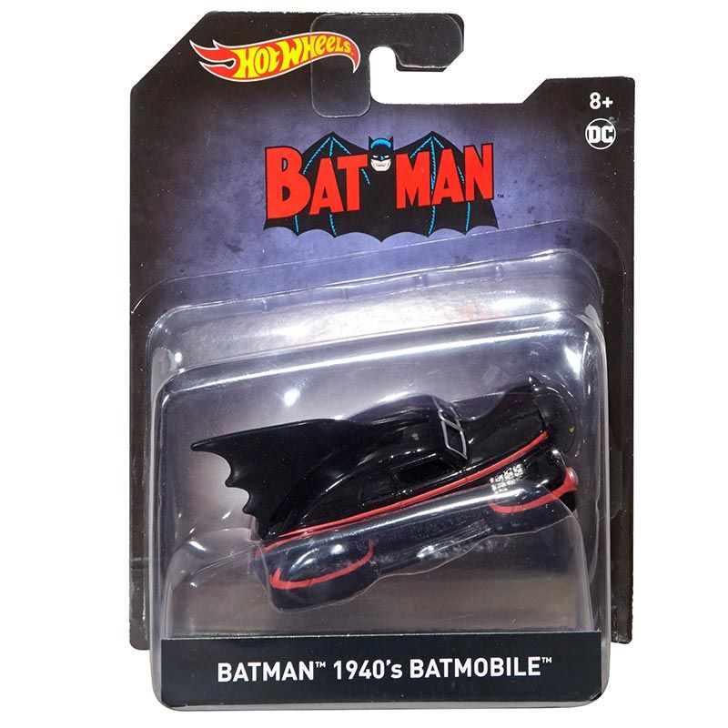 Batman 1940 1:50 Scale Die-Cast Batmobile by Hot Wheels -Hot Wheels - India - www.superherotoystore.com