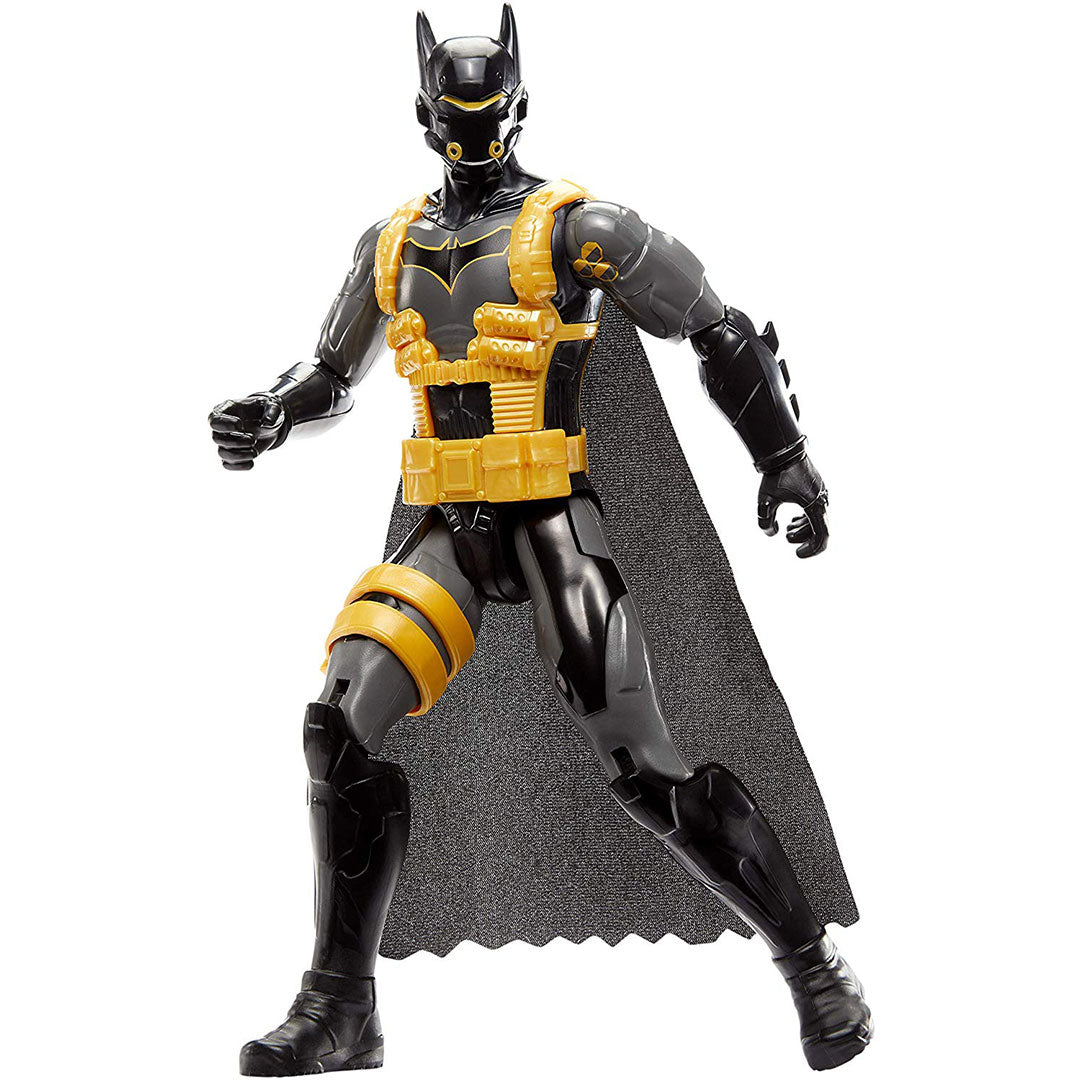 DC Comics Mission Anti-Toxin Batsuit Batman Figure by Mattel