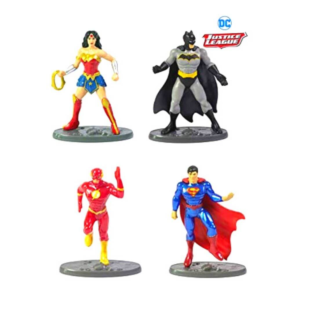 Justice League 4 Pack Collector Set by Mattel -Mattel - India - www.superherotoystore.com