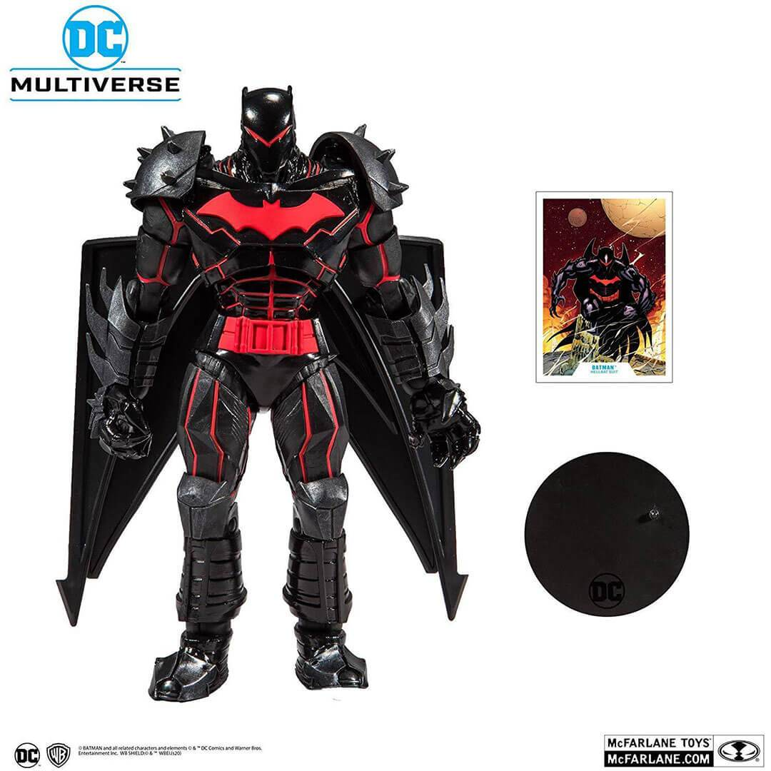 """NEW DC COMICS { Batman Armored }  12/"""" ACTION FIGURE { 9 Points of Articulation }"""