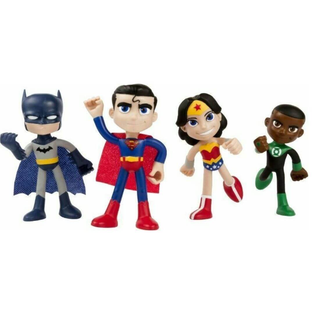 Justice League Action Bendable Set by NJ Croce -NJ Croce - India - www.superherotoystore.com