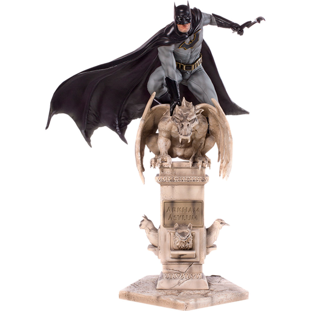 Batman (Eddy Barrows - Regular Edition) 1:10 Scale Statue by Iron Studios