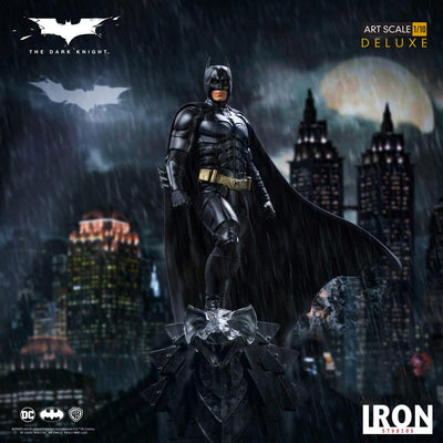 The Dark Knight Batman Deluxe 1:10th Scale Statue by Iron Studios -Iron Studios - India - www.superherotoystore.com