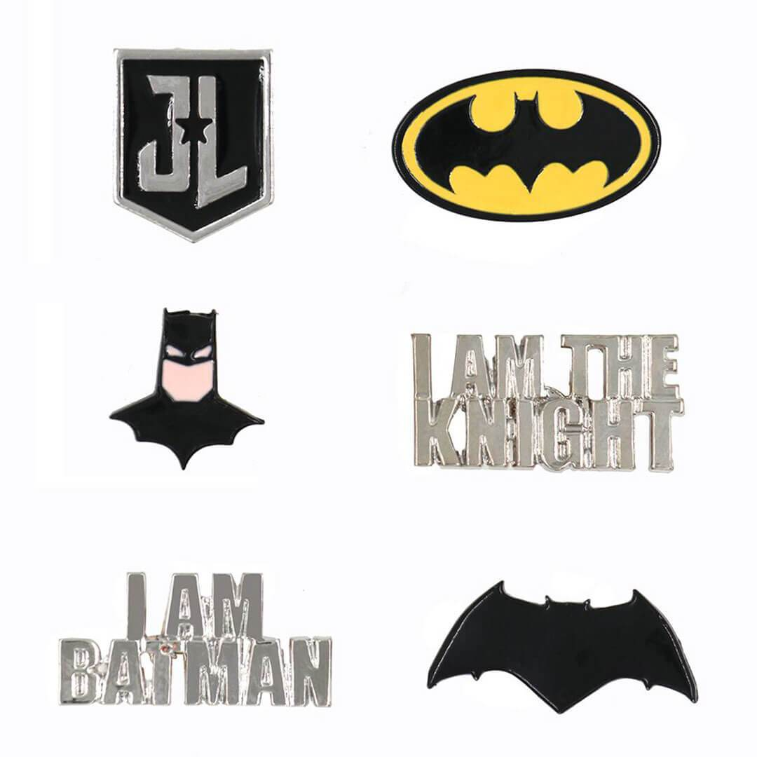 Justice League Batman Pin Set by EFG -EFG - India - www.superherotoystore.com