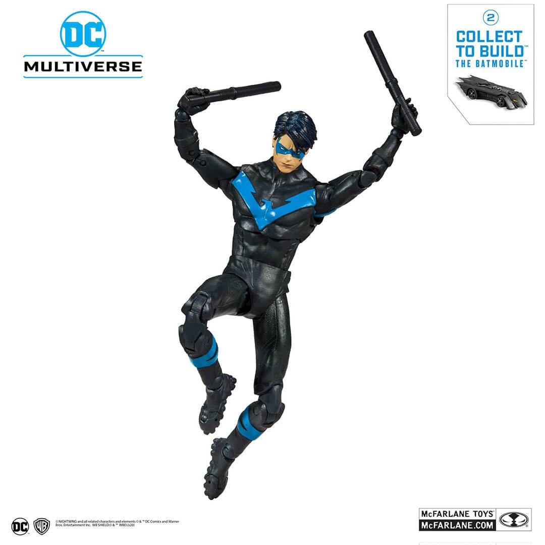 DC Collector Wave 1 Modern Nightwing Figure by McFarlane Toys -McFarlane Toys - India - www.superherotoystore.com