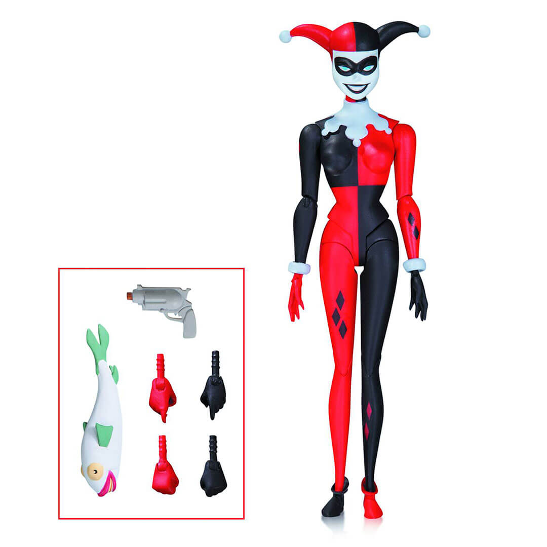 Batman Animated Harley Quinn Action Figure by DC Collectibles -DC Collectibles - India - www.superherotoystore.com