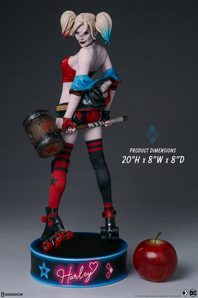 Harley Quinn: Hell on Wheels Premium Format Statue by Sideshow Collectibles -Sideshow Collectibles - India - www.superherotoystore.com