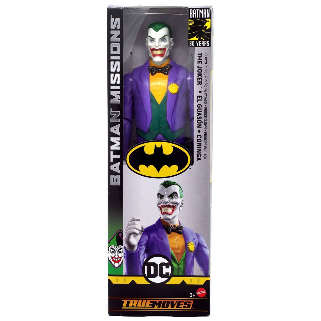 DC Comics Mission Joker Action Figure by Mattel -Mattel - India - www.superherotoystore.com