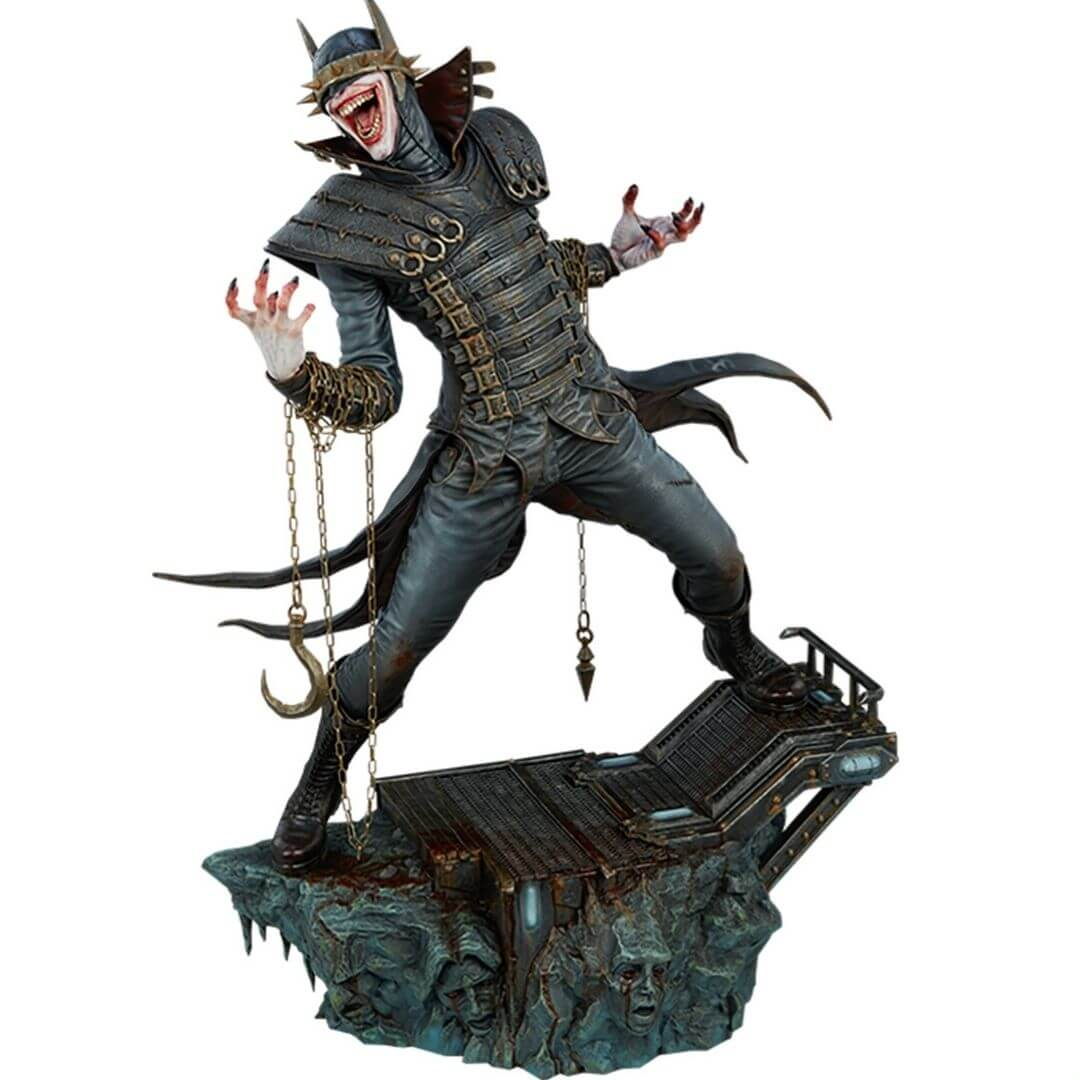 Batman Who Laughs Premium Format Figure by Sideshow Collectibles -Sideshow Collectibles - India - www.superherotoystore.com
