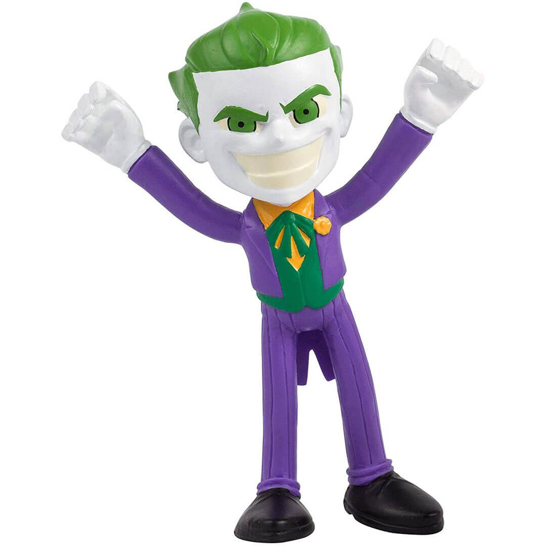 Joker Action Bendable Figure by NJ Croce -NJ Croce - India - www.superherotoystore.com