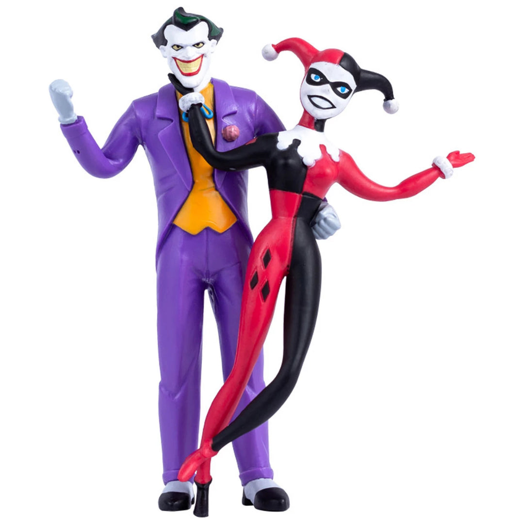 Batman The Animated Series: Joker & Harley Quinn Bendable Figure by NJ Croce -NJ Croce - India - www.superherotoystore.com