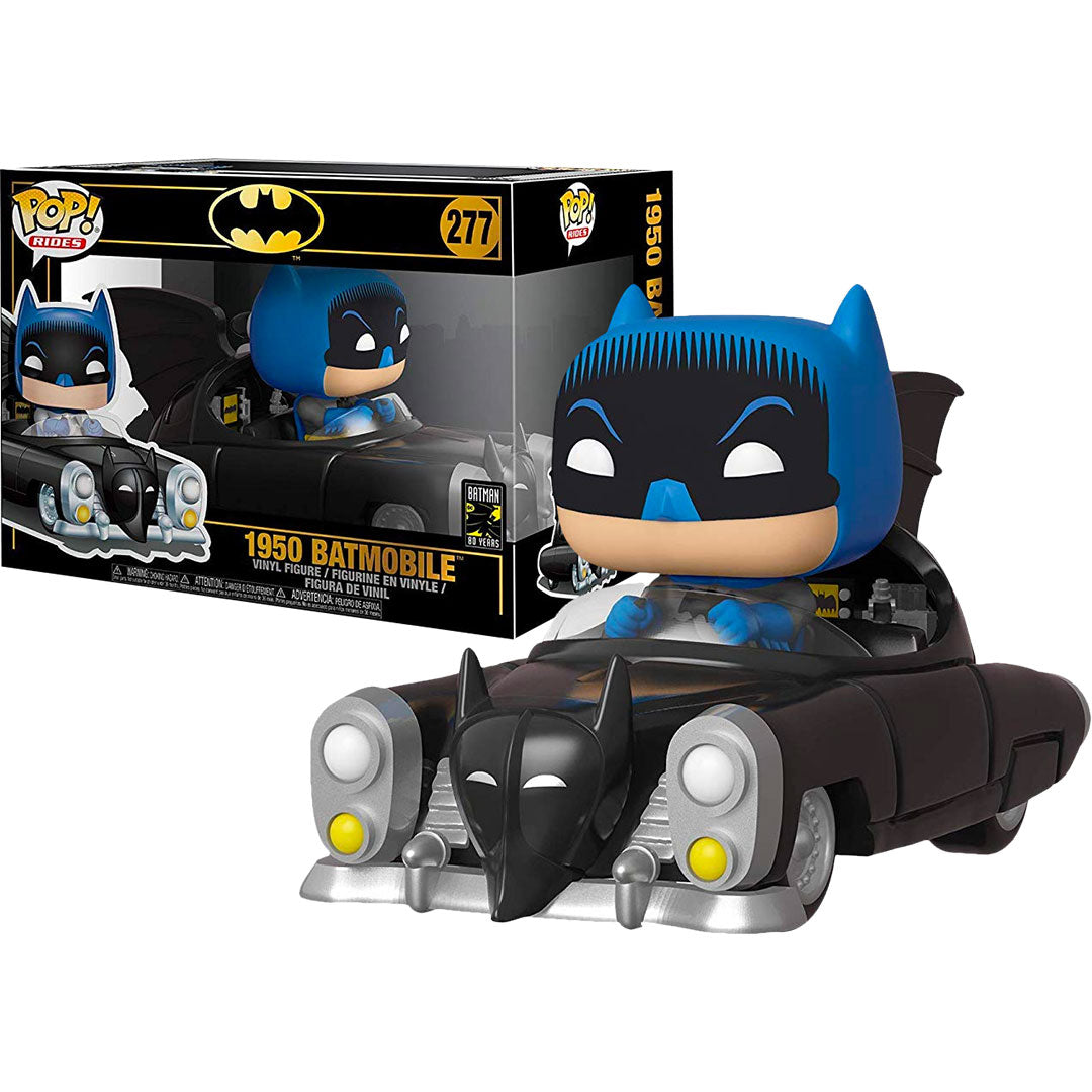 Batman with Batmobile 80th Anniversary Pop Vinyl FIgure by Funko