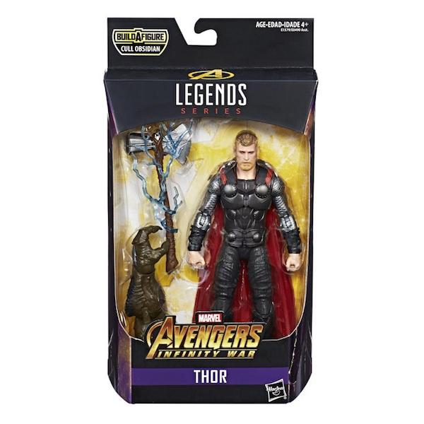 Avengers Infinity War: Marvel Legends: Wave 2: 6-Pack Cull Obsidian BAF by Hasbro